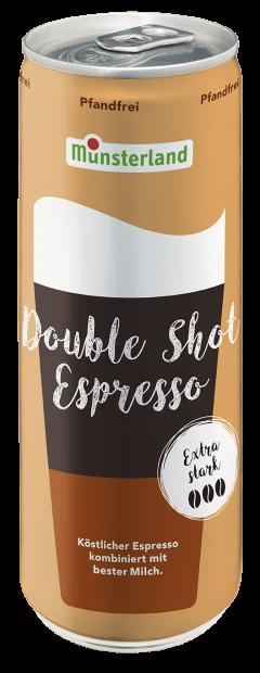 Münsterland Double Shot Espresso