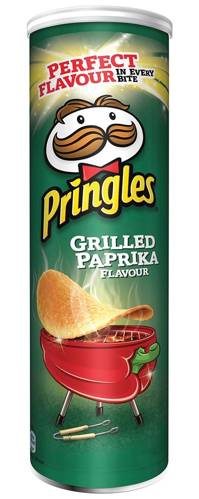 Pringles Grilled Paprika